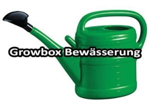 Growbox Bewässerung